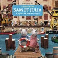 SAM ET JULIA, LA REGATE DES BATEAUX-DINGOS