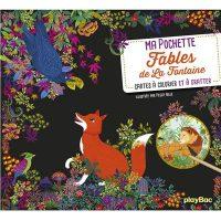 MA POCHETTE FABLES DE LA FONTAINE – CARTES A GRATTER ET A COLORIER